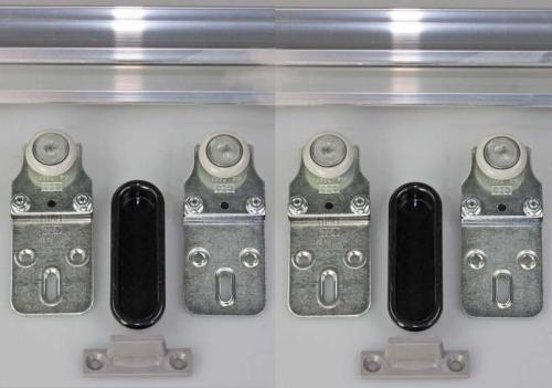 Schiebetürbeschlag  Tubel 28-200 für 2 Türen Öffnungsbreite bis 200 cm