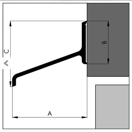 alu wetterschenkel haust ren mattenwereld. Black Bedroom Furniture Sets. Home Design Ideas