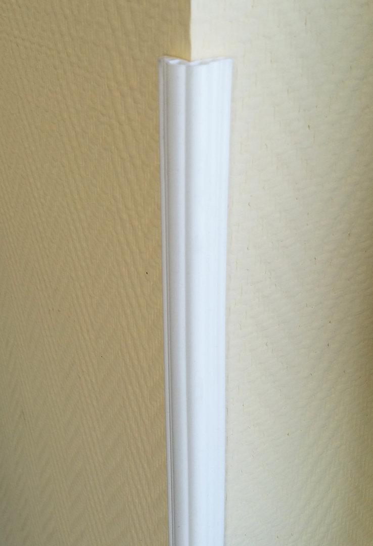 kantenschutz eckenschutz corner guard standard weiss set 4 st ck 100 cm eckenschoner. Black Bedroom Furniture Sets. Home Design Ideas