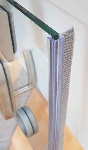 Bürstendichtung BSK10 mm = 9,80Euro//m 200cm Türbürste Türdichtung Glasdichtung